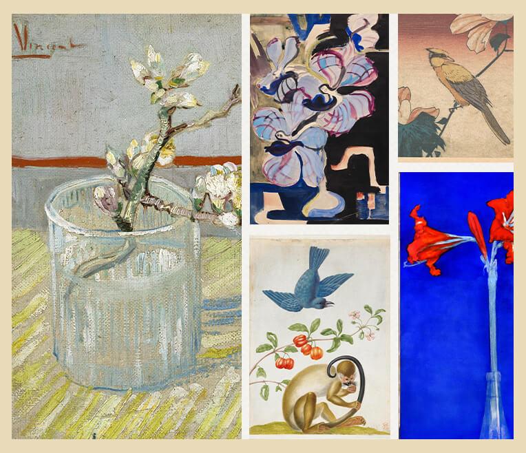 Blumen und Pflanzen in der Kunst