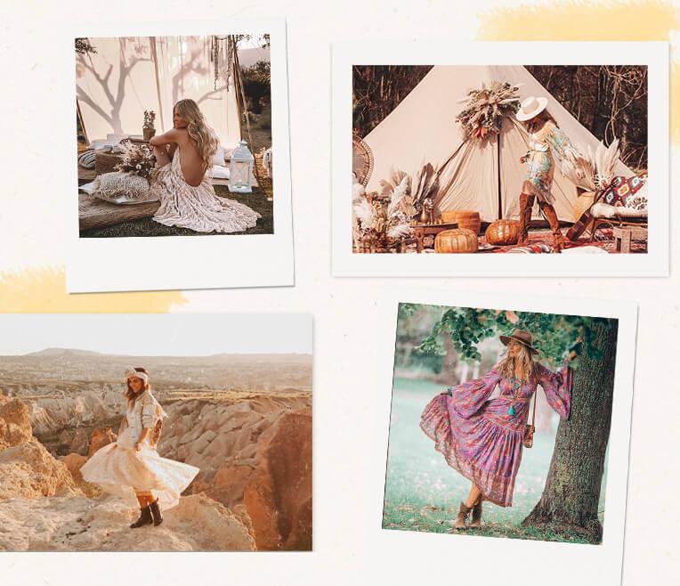 Boho-Style-Inspirationen auf Instagram