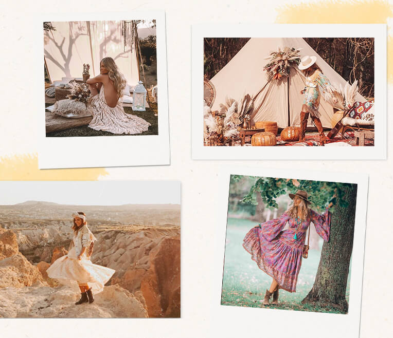 Boho-Style-inspiration on Instagram