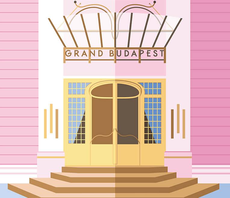 Filmvorstellung »Grand Budapest Hotel«