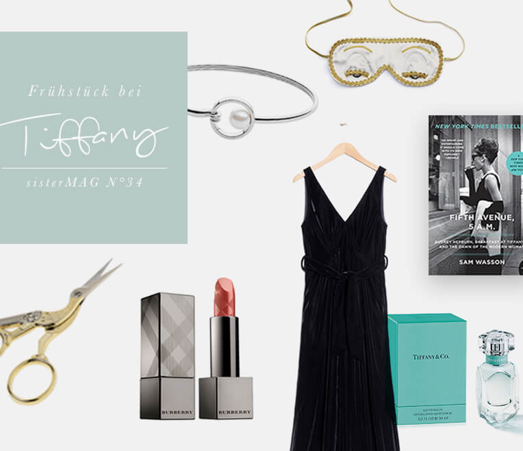 Product Collage – Breakfast at Tiffany's