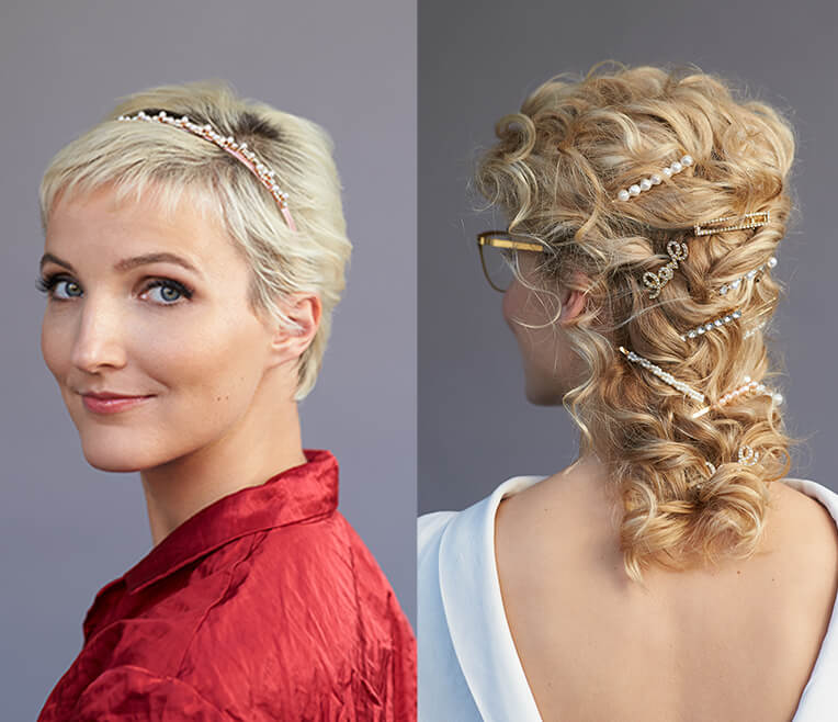 Festive 5-Minute Hairstyles