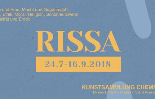 Zur Ausstellung »RISSA« in den Kunstsammlungen Chemnitz