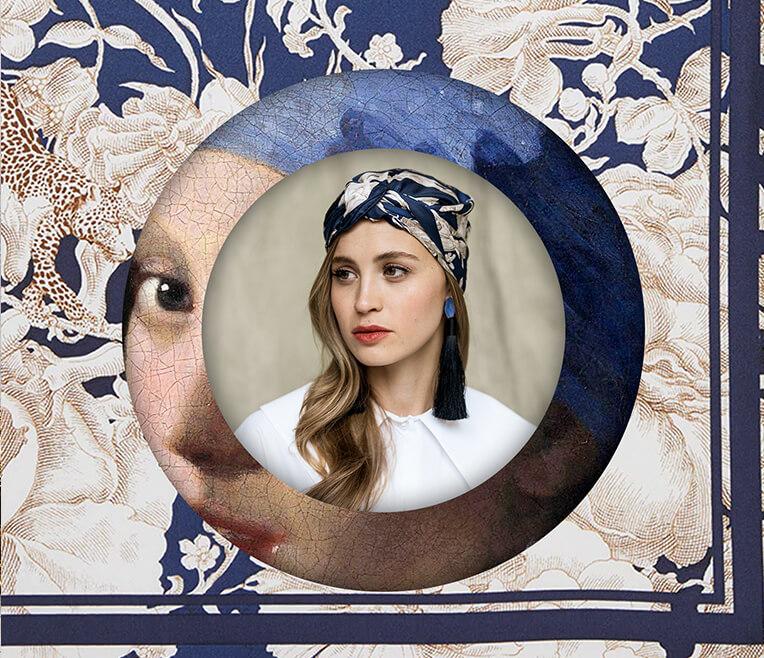 Moderne Turban-inspirierte Hairstyles mit Tüchern