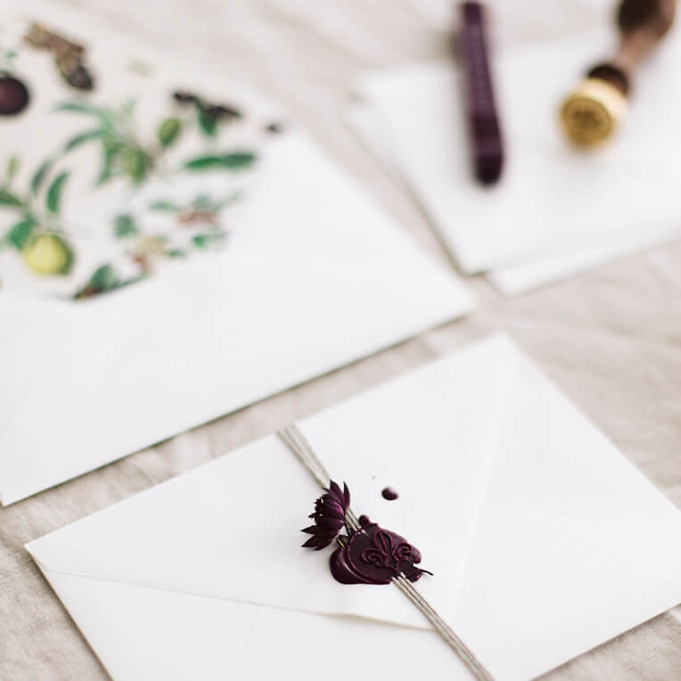 DIY »Aufgehübschte Briefumschläge«
