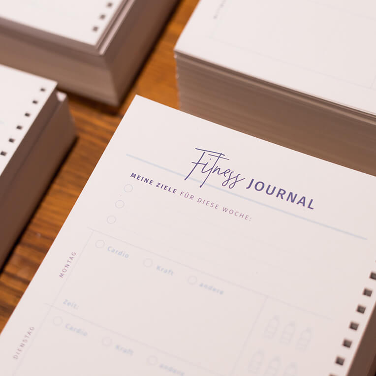 Printable: Fitness Journal