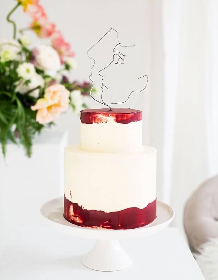 Rodins »Denker« Cake Topper DIY