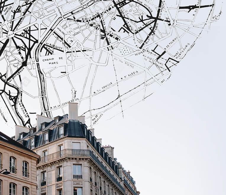 Das Pariser Stadtbild