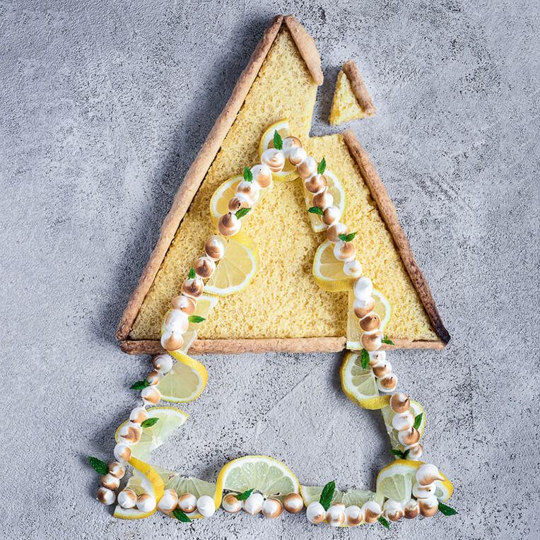 Bauhaus Recipe: »Lemon-Pie«