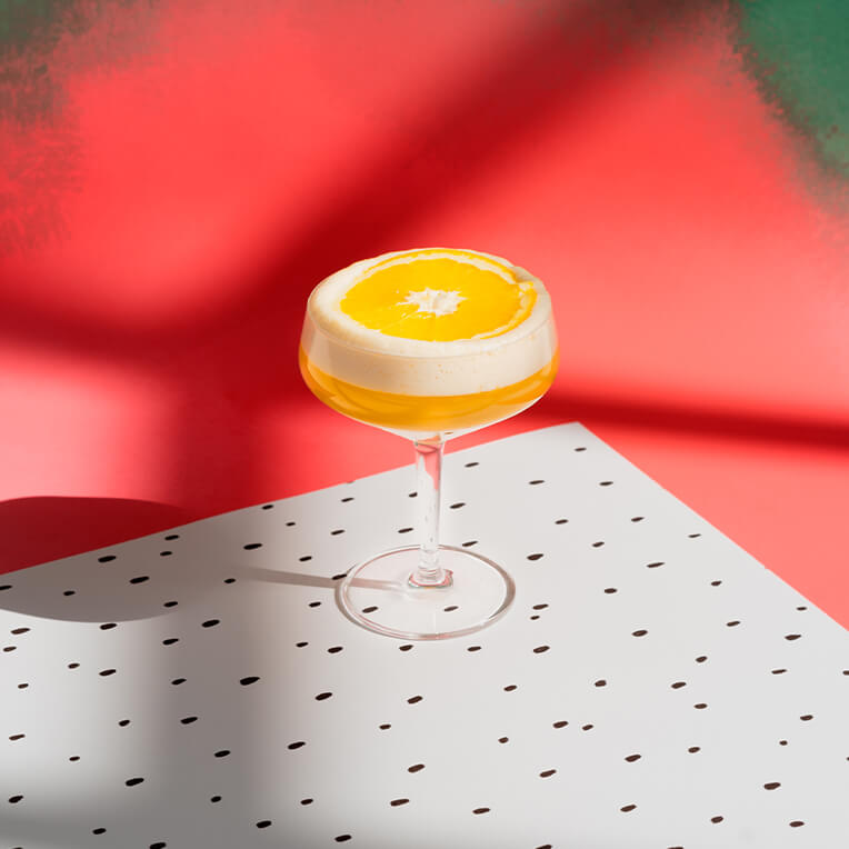 Rezept: »Orange Whiskey Sour«