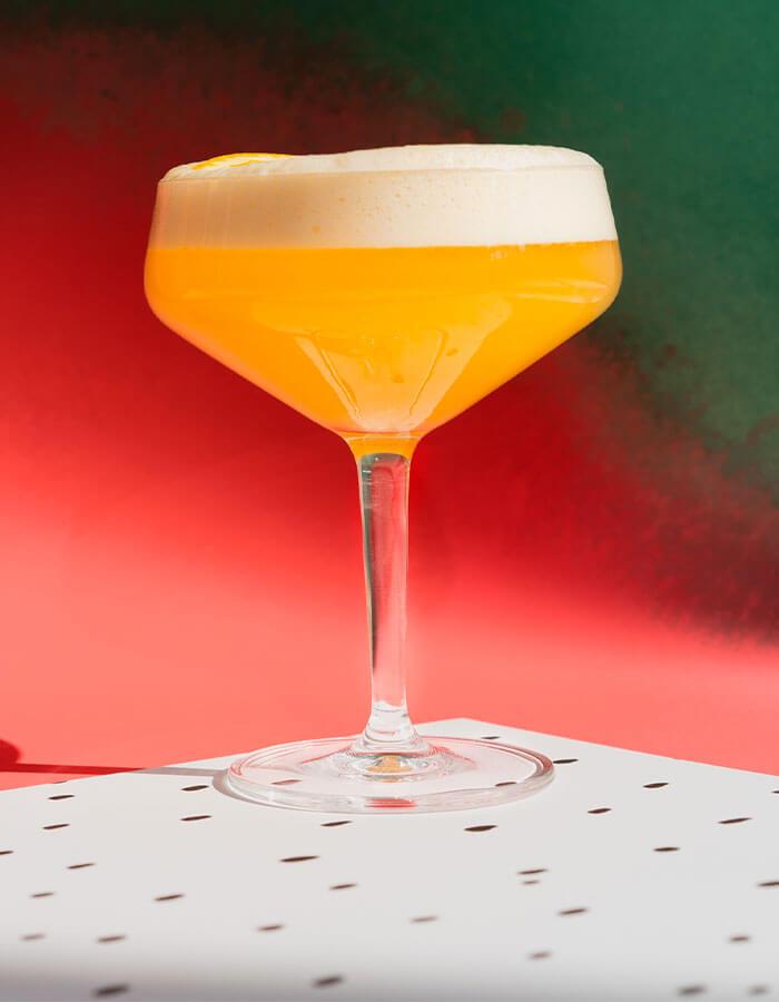 Rezept: »Orange Whiskey Sour«