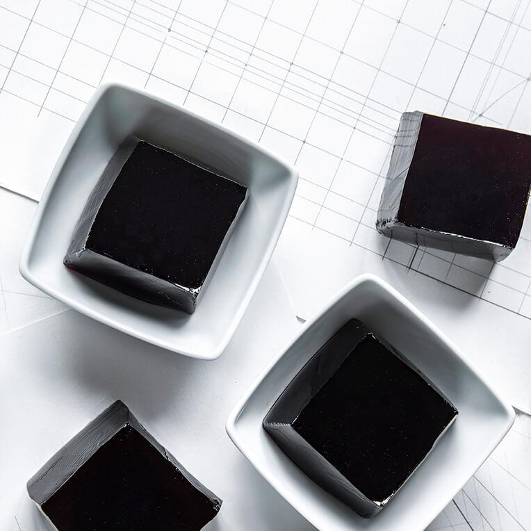 Bauhaus-Rezept: »Gelee-Würfel«