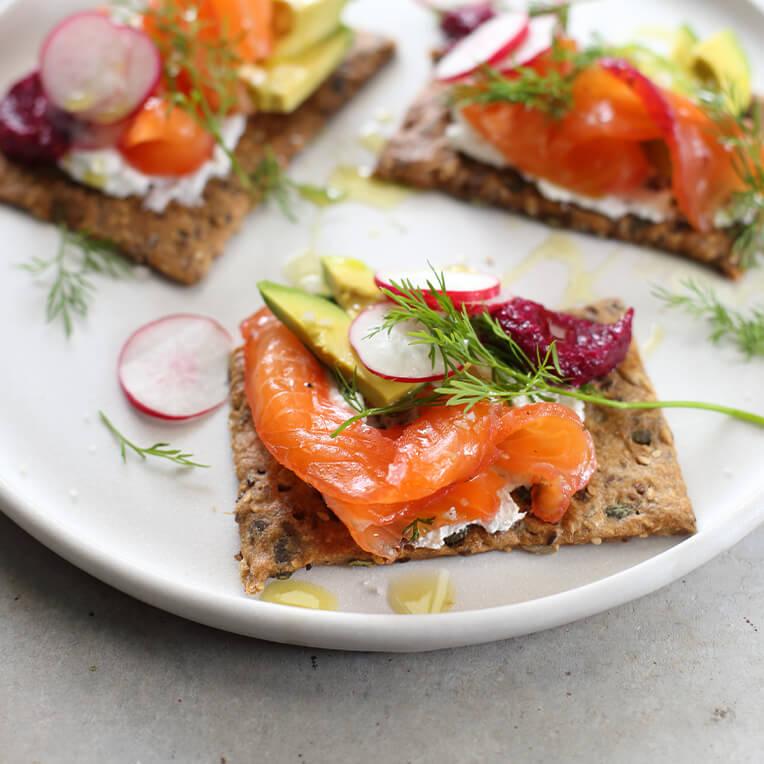 Recipe: »Horseradish salmon gravlax«