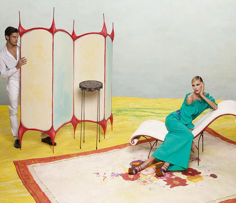 Karl Lagerfeld exhibition at the Kunstmuseum Moritzburg