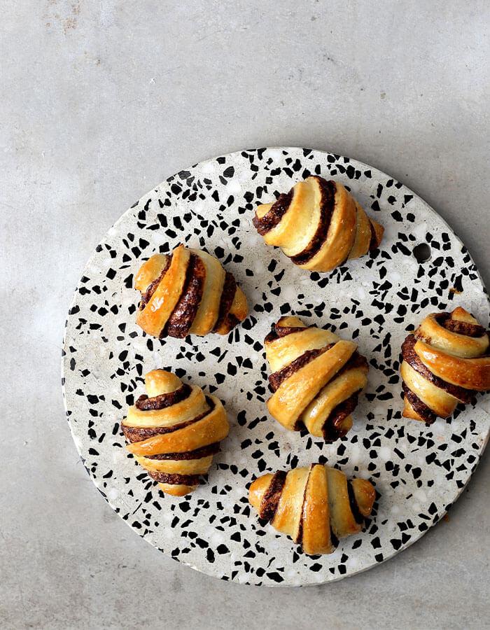 Recipe: »Chocolate Halva Rugelach«
