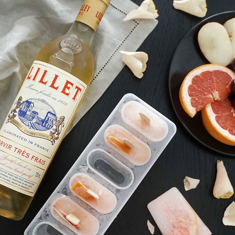 »Chez Mademoiselle Lillet« Drink-Recipes