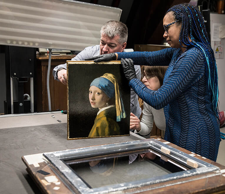 Interview Mauritshuis The Hague