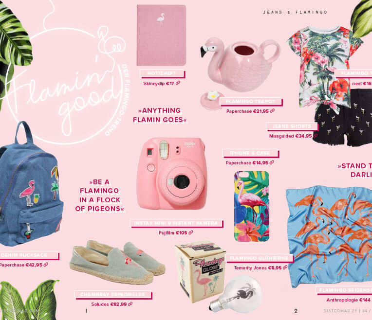 Flamin' good – Der Flamingo Trend