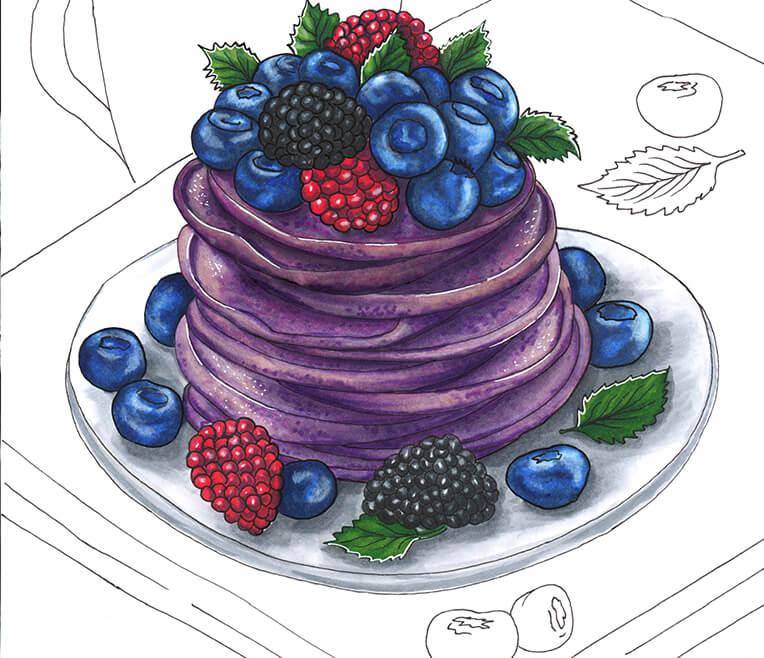 Blutende Pflanzen und lila Pancakes – 9 verrückte Foodtrends
