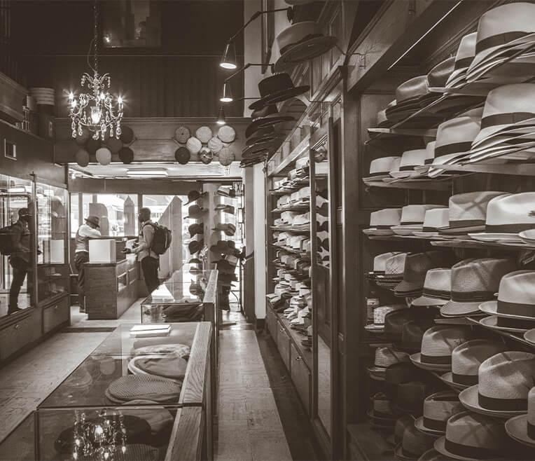 J.J. Hat Center und der Hutmacher von New York