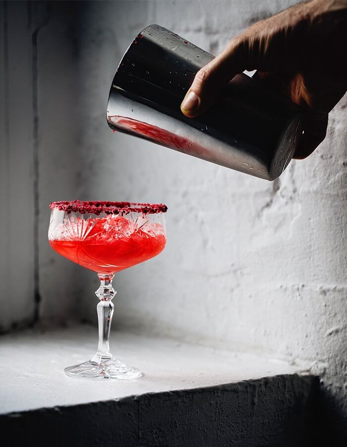Summer Drink Recipe »Raspberry Margarita«