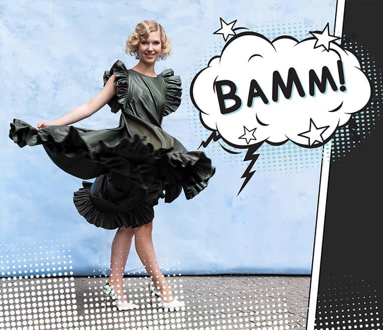 BAMM! Unsere sisterMAG »Pop Art« Modestrecke