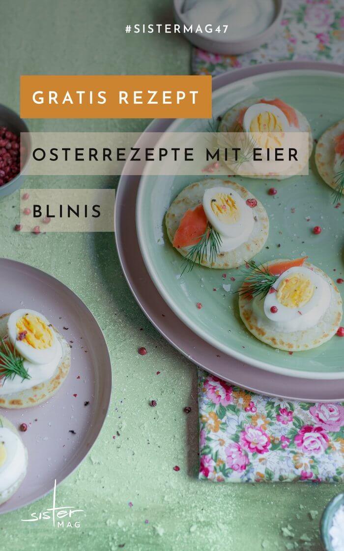 Rezept Blinis – Eierrezepte für den Frühling