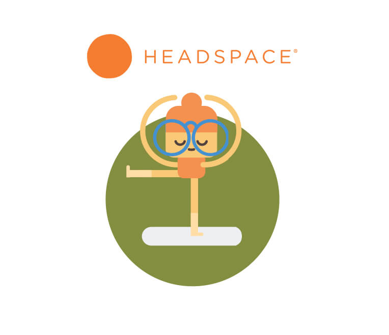 Everyday meditation made easy with the app »Headspace«