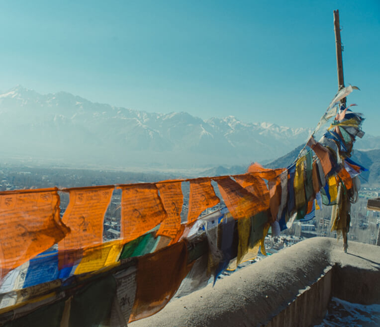 From love guru and the Dalai Lama: On tour in Northern India