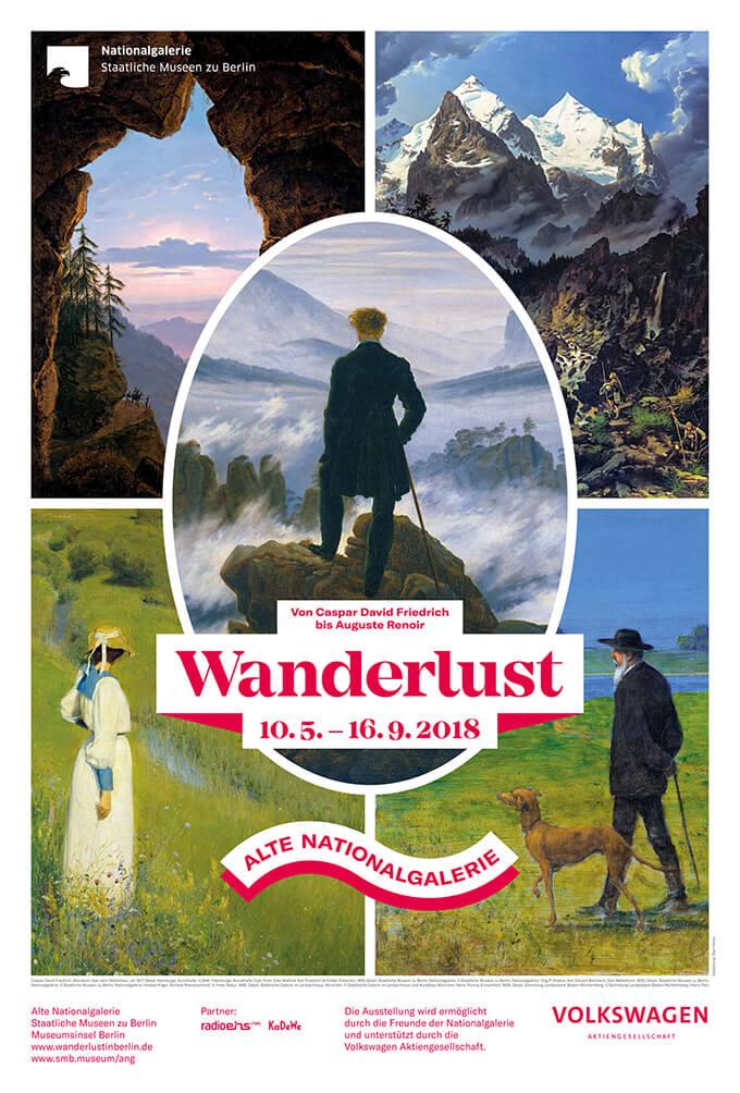 Zur Ausstellung »Wanderlust« in der Alten Nationalgalerie Berlin