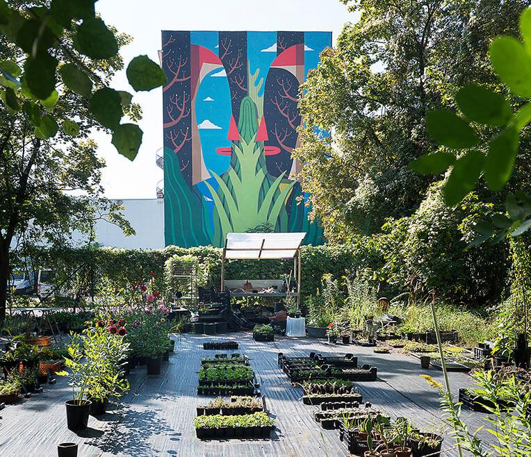 Garden and the City – wie man in der Stadt zum Garten kommt