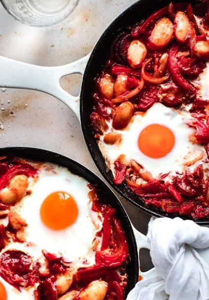 Rezept Spanische Eier