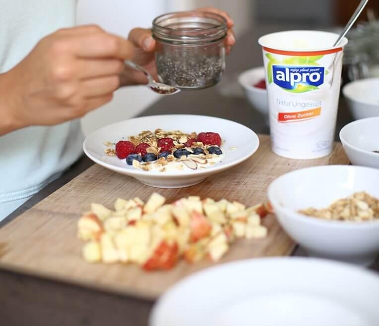 Alpro Frühstücksrezepte