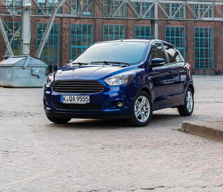 Minimaler Einsatz, maximaler Output – Ford KA+