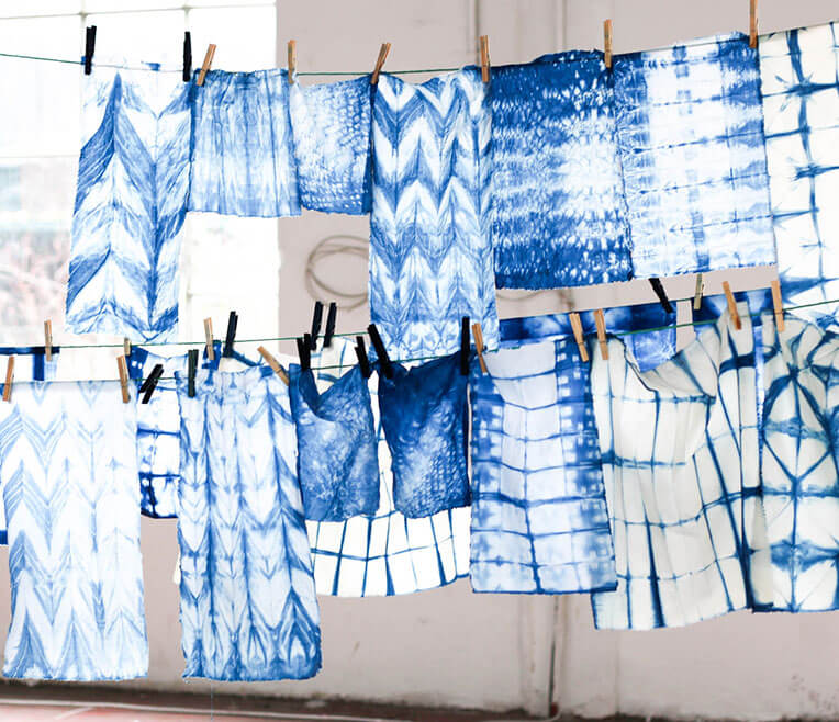 The Blue Magic Of Shibori