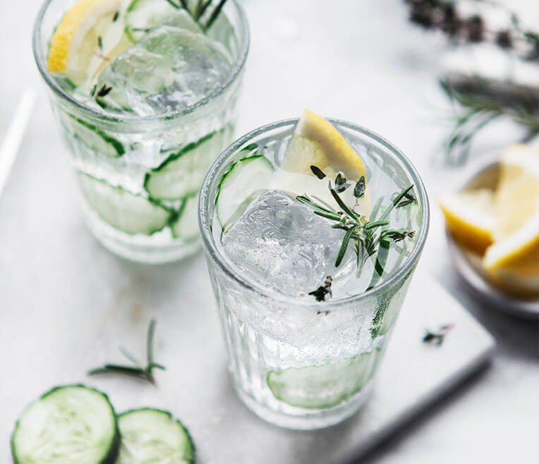 Rezept: Infused Water Drinks