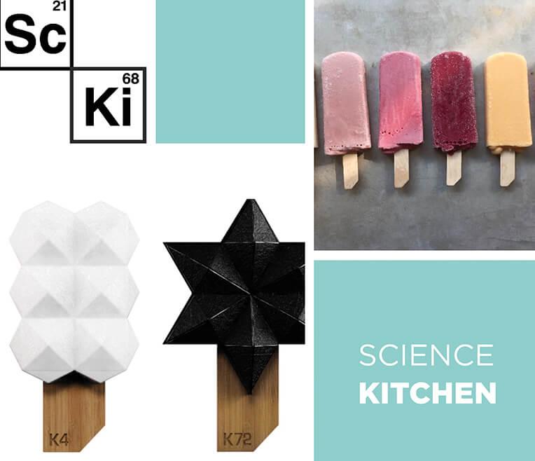 Science Kitchen – Das Geheimnis des Moleküleis