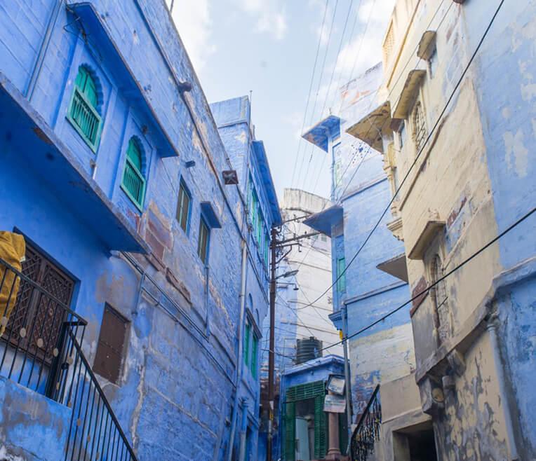 Jodhpur – Die blaue Stadt