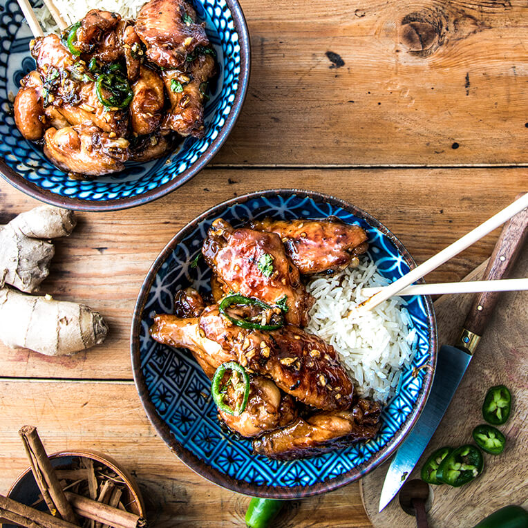 Recipes for caramelised dishes