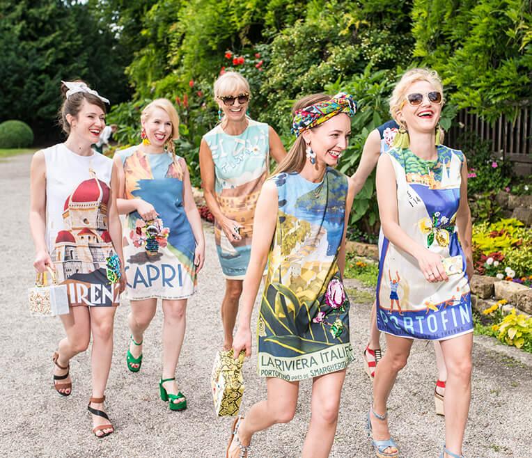 Team Fashionshoot: Postcard from afar