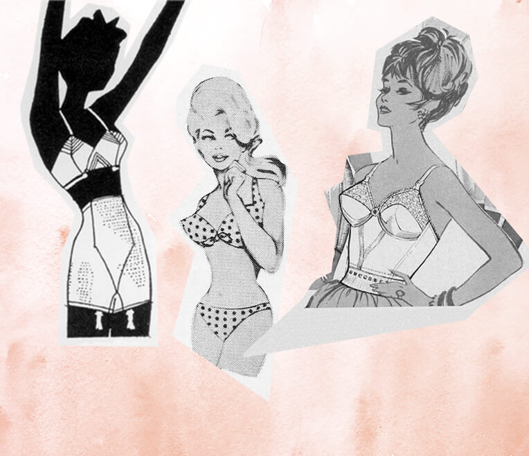 The changing shades of lingerie
