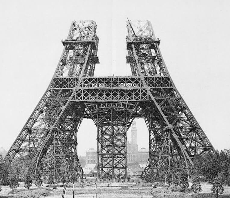 From the Crystal Palace to the Eiffel Tower: Iron as building material