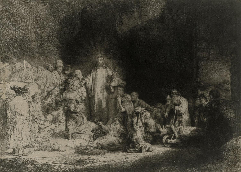 Zur Ausstellung Rembrandts Strich Im Kupferstichkabinett
