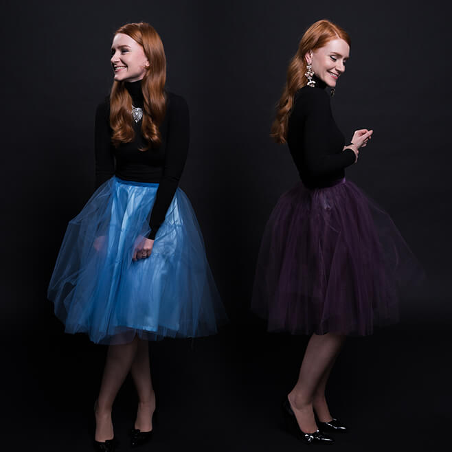 Tutorial: How to sew a tulle skirt