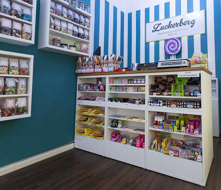 Visiting »Zuckerberg«  – Traditional Candy Shop Berlin