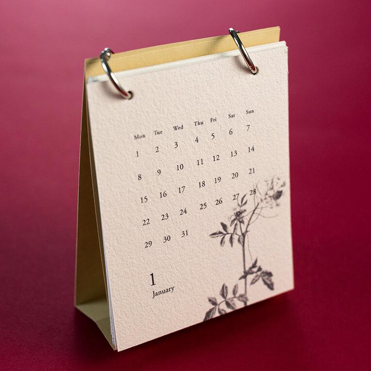 DIY Tischkalender