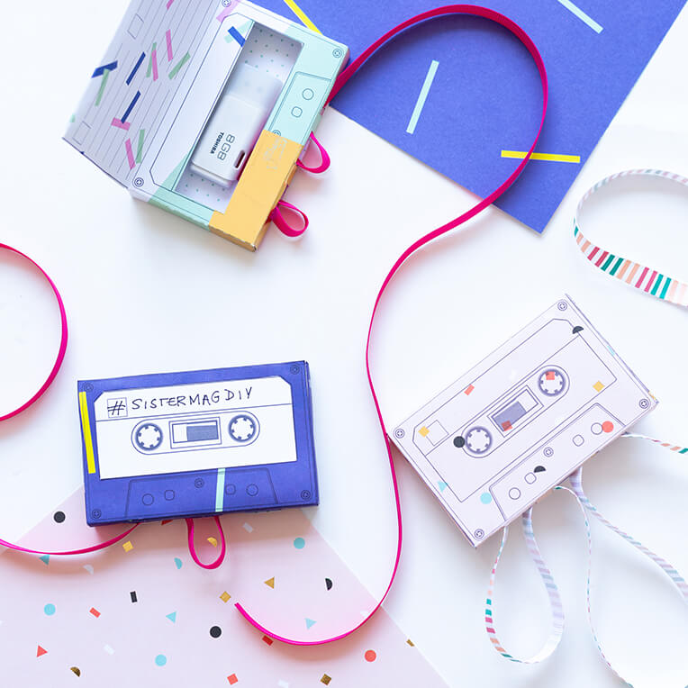 DIY Mixtape USB Gift Box