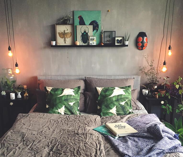 Männer- versus Frauenschlafzimmer
