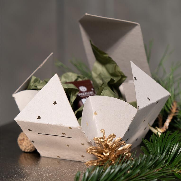DIY Kleine Geschenkebox aus Karton