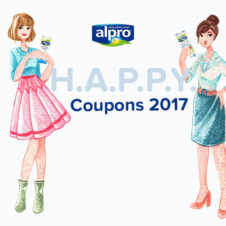 Alpro H.A.P.P.Y. Challenge Couponbogen zum Download